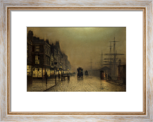 Liverpool by John Atkinson Grimshaw