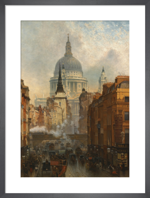 Ludgate - Evening, 1887 by John O'Connor