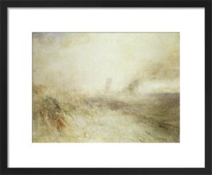 Seascape: Folkstone by Joseph Mallord William Turner