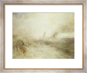 Seascape: Folkstone by Joseph Mallord William Turner