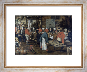 The Peasant Wedding by Pieter Brueghel The Elder
