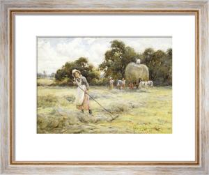 Haymaking by Harold Joseph Swanwick