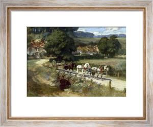 The Crossing, 1912 by Frederick Arthur Bridgman