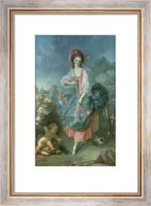 Portrait of Mademoiselle Guimard as Terpsichore by Jacques-Louis David
