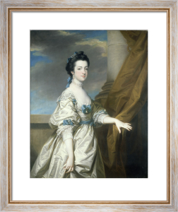 A Portrait of the Hon Elizabeth Booth by Francis Cotes