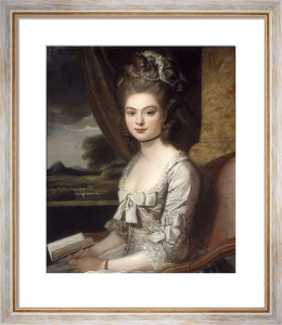 Portrait of Miss Hill by Sir Nathaniel Dance-Holland
