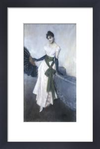 A Portrait of Signorina Concha de Ossa by Giovanni Boldini