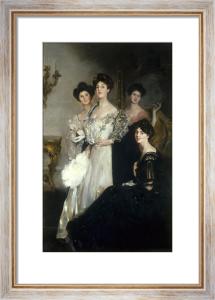Portrait of the Glen Walker Sisters by John da Costa