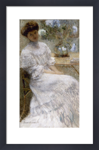 Woman in a French Interior, 1908 by Susan Watkins