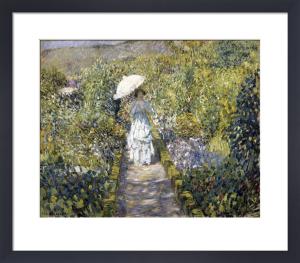 The Garden Path, c.1910 by Frederick Carl Frieseke