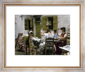 Venetian Bead Stringers, 1887-88 by Robert Frederick Blum