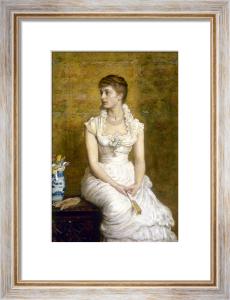 Lady Campbell (Nina Lehmann), 1884 by Sir John Everett Millais