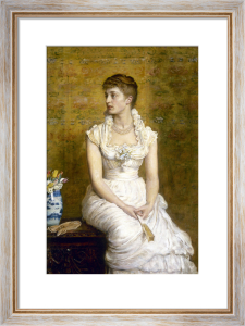 Lady Campbell (Nina Lehmann), 1884 by Sir John Everett Millais