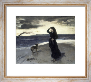 Adieu au Bord de Mer, 1891 by Alfred Emile Stevens