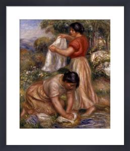 Les Laveuses by Pierre Auguste Renoir