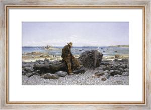 Mending the Nets, 1875 by Henri Saintin