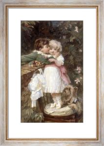 Over the Garden Wall by Frederick Morgan