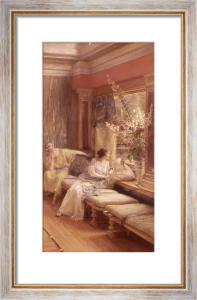 Vain Courtship by Sir Lawrence Alma-Tadema