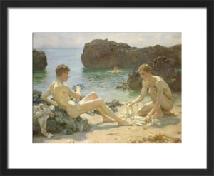 The Sunbathers by Henry Scott Tuke