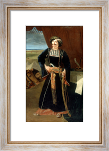 Portrait of Maharaja Pratap Chand by William Henry Florio Hutchinson