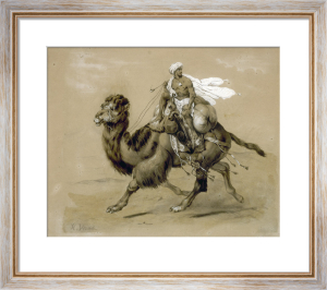 Riding the Camel by Emile Jean Horace Vernet