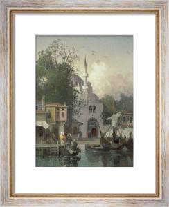 Constantinople, 1874 by Germain Fabius Brest