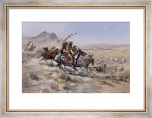 Attack on a Wagon Train, 1902 by Charles Marion Russell