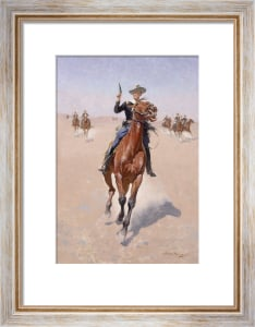 The Trooper, c.1891-1902 by Frederic Remington