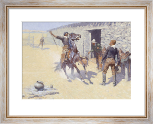The Apaches! 1904 by Frederic Remington