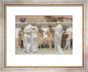 A Quartet: a Painter's Tribute to the Art of Music, 1868 by Albert Moore