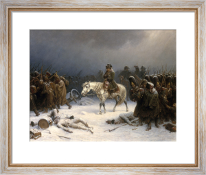 Napoleon's Retreat from Moscow by Adolf Northen