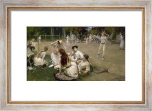 Lawn Tennis Club, 1891 by Frederick Arthur Bridgman