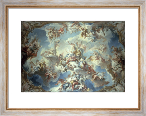 Glorification of Margrave Wilhelm Friedrich von Ansbach by Carlo Innocenzo Carlone