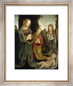 The Virgin and Angels Adoring the Christ Child by Giovanni Maria di Bartolommeo Bacci di Belforte