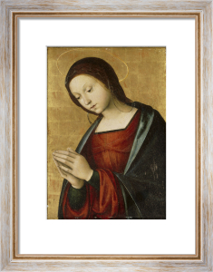The Virgin Annunciate by Lorenzo Costa