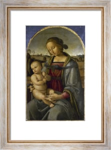 The Madonna and Child in a Landscape by Andrea d'Assisi
