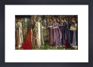 Saint Catherine, 1902 by Edward Reginald Frampton