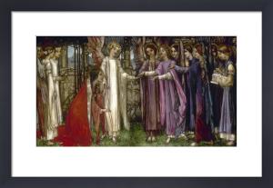 Saint Catherine, 1902 by Edward Reginald Frampton