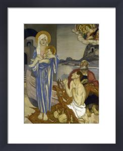 The Vision, 1921 by Maurice William Greiffenhagen