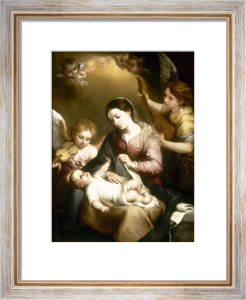 The Virgin of the Swaddling Clothes by Bartolomé Esteban Murillo