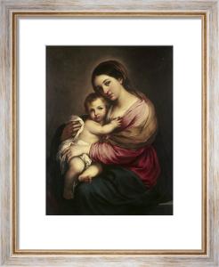 The Virgin and Child by Bartolomé Esteban Murillo