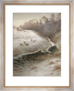 Winter Afternoon at Finzean by Joseph Farquharson