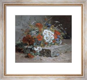 Wild Flowers by Eugene Henri Cauchois