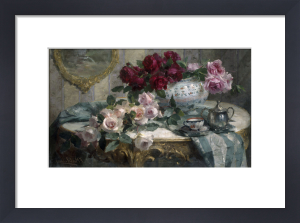 Still Life of Flowers by Frans Mortelmans