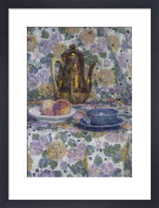 La Theiere Doree by Henri Eugene Augustin Le Sidaner