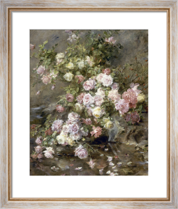 Roses on a Riverbank by Madeleine Lemaire