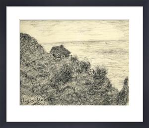 La Cabane de Douaniers pres de Pourville, 1890 by Claude Monet
