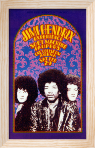 Jimi Hendrix Experience, Toronto 1968 by Anonymous