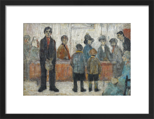 A Doctor's Waiting Room, 1920 by L S Lowry