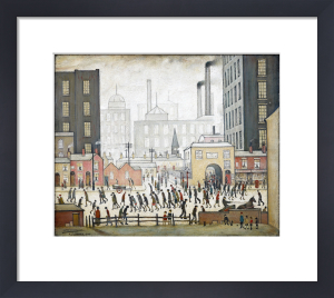 Coming From The Mill, 1930 by L S Lowry